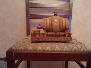 Сувениры из дерева (по договорной цене НЕДОРОГО! ). Часы настольные.