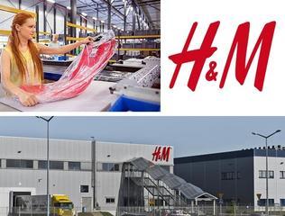Требуются работники на склад одежды H&M в Польшу! З/п 500-700$.
