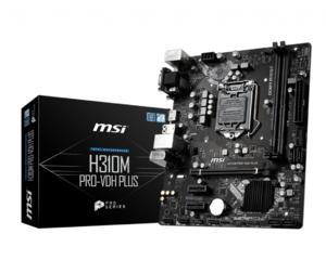 MB MSI H310M PRO-VDH PLUS / mATX /  Intel H310 / Socket 1151 / Dual 2x