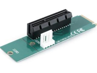 Adapter Gembird RC-M.2-01 / PCI-Express to M.2 /