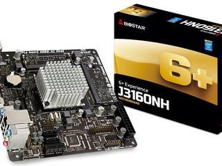 MB + CPU Biostar J3160NH / Celeron J3160 / 2xSO-DIMM DDR3L-1600 / Inte