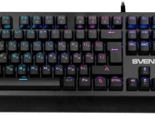 Keyboard Sven KB-G9700 / Mechanical / Red SW / RGB /