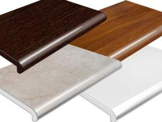 Подоконники Danke Crystallit Plasolit в размер. Отливы алюминий.