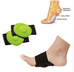 Плоскостопие, зелёная тканевая подушка