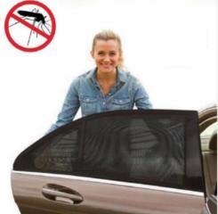 Антимоскитная ткань летом на окна автомобиля