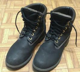 Продаю ботинки кожаные, б\у, унисекс, зима