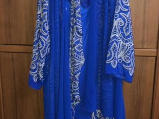 Вечернее платье для женщин в возрасте 50/52 размер. 500 лей