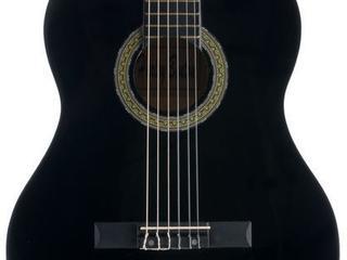 Гитара черного цвета, абсолютно новая!