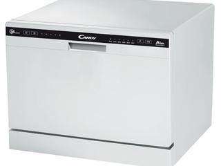 CANDY CDCP 6/E, 6 seturi, 6 programe, 55 cm, A+, alb, Preț nou: 4499le