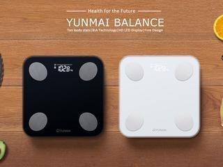 Умные весы yunmai balance smart scale