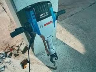 Аренда прокат доставка Отбойные молотки перфораторы резка бетона стен!