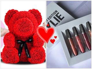 Лучший подарок! Мишка из роз + ПОДАРОК!!! Порадуй свою любимую!