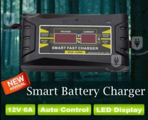 Зарядное устройство для автомобиля 12V 6A