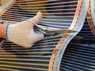 Инфракрасная пленка для теплого пола, под легкие покрытия, термостаты!