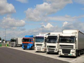 Автостоянка грузовых автомашин автобусов в Бельцах Parcare camioane