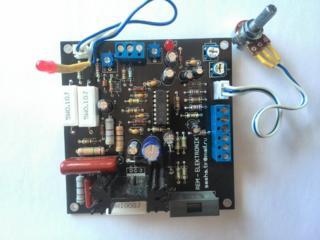 Прибор для регулировки оборотов коллекторного двигателя на TDA1085