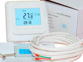 Терморегуляторы для электрического теплого пола ручные программируемые