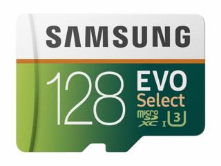 The most of sold: Samsung 128GB 100MB/s (U3) MicroSD EVO(Home Deliver)
