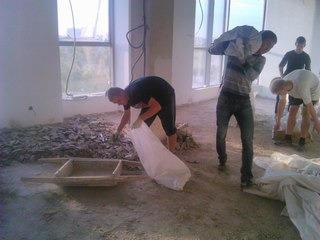 Подготовка квартир домов к ремонту перепланировка резка бетона стен!!!