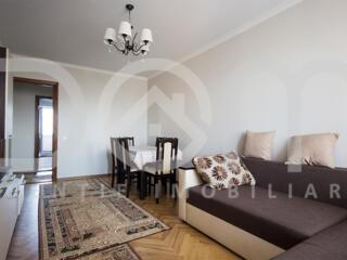 Apartament cu 3 camere, 71m2,3 balcoane mari, etajul 5 din9,bd. Dacia