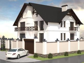 Дизайн фасадов, утепление и отделка декором собственного производства