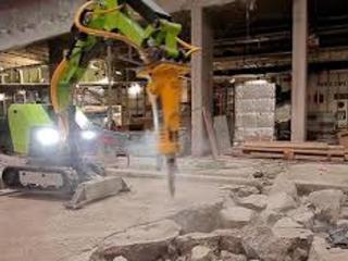 Бельцы демонтаж бетонной стяжки пола снятия стяжки пола вывоз мусора