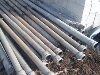 Трубы алюминиевые для полива, ирригации, орошения 200 лей за трубу