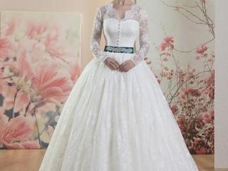 Rochie de mireasa noua, vânzare/chirie la preț accesibil! Marimea XL.