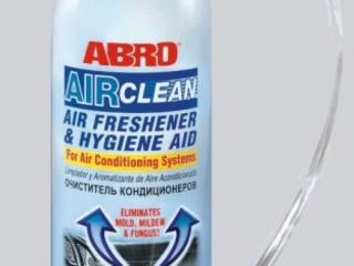 Антибактериальный очиститель кондиционеров ABRO USA. 110лей -10%= 99лей