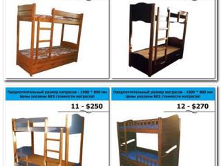 Кровати 2-ярусные от мастера