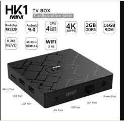 IP TV. Tелевизоров Smart TV адаптация HD. H 96 pro+ 3 - 32 gB