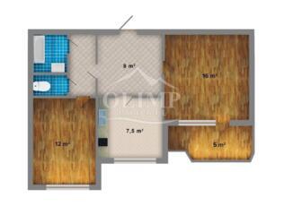 Botanica! Locatia SUPER! Apartament cu 2 camere, etajul 6/9, seria 143