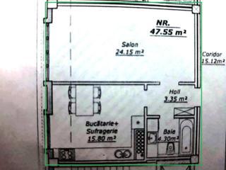 1 camera 48m2 - in bloc tip Club House in inima capitalei Sciusev