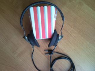 Наушники военные и микрофон из СССР
