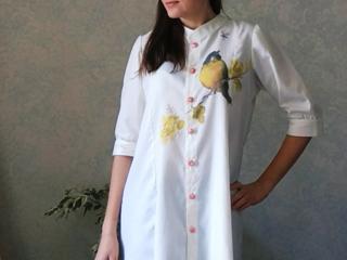 Женская блузка ручная работа