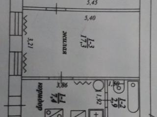 БЕНДЕРЫ ЦЕНТР Калинина нежилой фонд помещение 40 кв. м.