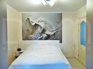 Apartament cu 3 camere+living, euroreparație, Traian/Nunta (Botanica)