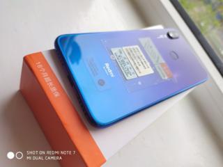 Тестированный Redmi note 7 3/32Gb Blue 4G VoLTE+ стекло, блок Q. C3.0