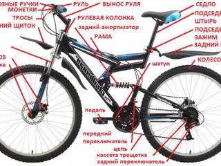 Ремонт велосипедов, колясок, самокатов.