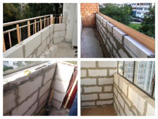 Ремонт реконструкция усиление воcстановление балконов лоджии под ключ