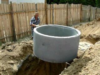 Доставка бетонных колец для канализации