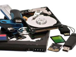 Восстановление данных файлов информации диск флешка карта памяти USB