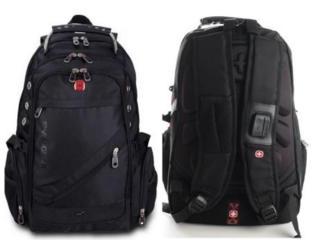 Рюкзак швейцарский Swiss Gear 8810 + подарок часы и дождевик