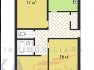 Продается 3-х комнатная квартира на Буюканах, серия МС, середина, подъезд