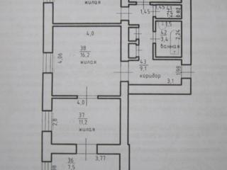 Большая трехкомнатная квартира 70 м. 2., ул. Титова дом №38. 12000 $.