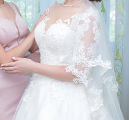 Свадебное платье в очень хорошем состояние.