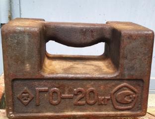 Гиря - 20 кг