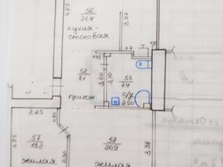 Продам квартиру 3-комнатную (Сталинка 3/4) в центре Тирасполя.