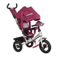 Велосипед детский трехколесный Azimut Crosser One T1 (надувные колеса)