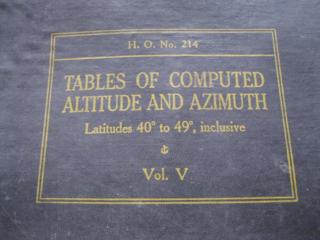 """Продам книгу """"Таблицы вычисленной высоты и азимута"""", Вашингтон 1940 г"""